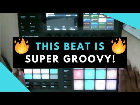 This Beat Is Super Groovy! Maschine MK3 Beat Making With Royalty Free Sample Packs