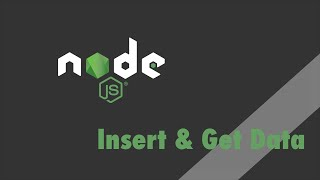 Node.js + Express - Tutorial - Insert and Get Data with MongoDB