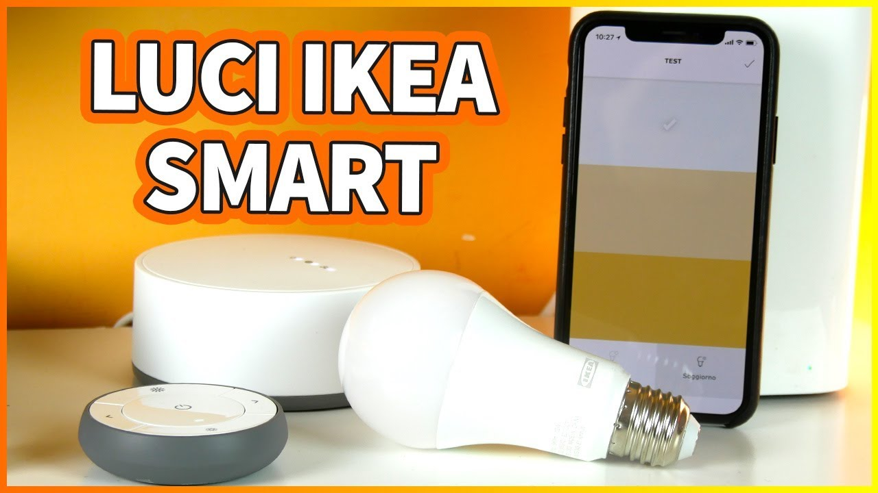 Ikea Le Luci Smart Compatibili Con Homekit Youtube