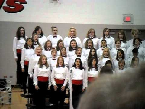 McHenry Middle School 2010 October Concert song