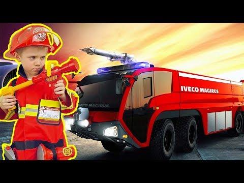 Мультфильм пожарный даник
