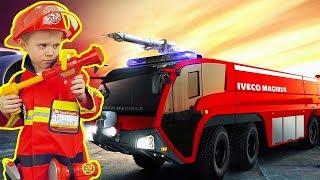 Пожарный Даник и Пожарные Машинки все серии подряд. Сборник видео про ПОЖАРНЫЕ МАШИНКИ