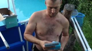 видео Как использовать донный пылесос для бассейна