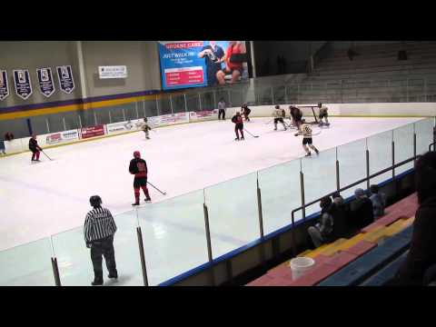 Palm Beach BlackHawks Travel Bantam AA 01 vs Maine Hockey Academy 2-16-15
