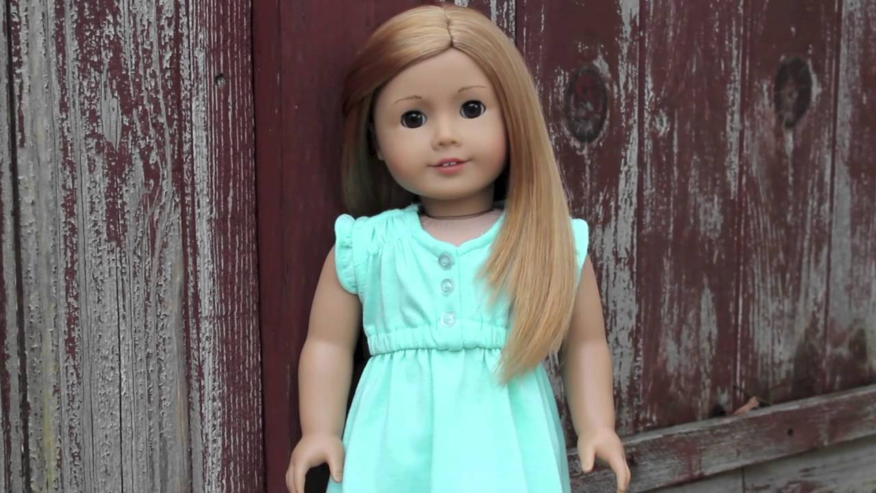 American Girl Doll Review 35 Youtube
