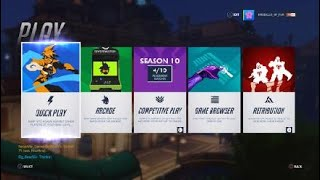 Overwatch: Season 10 Comp. Games 3 and 4 - Lead By A Junkrat