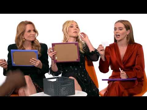 Zoey Deutch, Madelyn Deutch, & Lea Thompson Play 'Speaking Deutch'