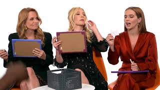 Zoey Deutch, Madelyn Deutch, & Lea Thompson Play 'Speaking Deutch'