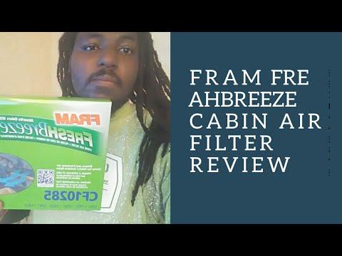 Fram Freshbreeze Cabin Air Filter Review