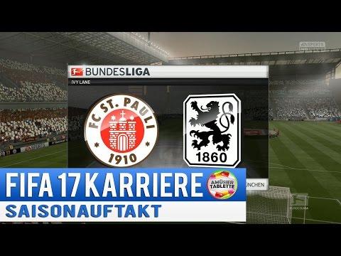 LIGAAUFTAKT ★ Fifa 17 Karriere #06 (german/deutsch) ★ Let's Play Gameplay