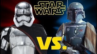 Why Boba Fett is an Icon and Captain Phasma is a Joke (It's all about the writing)
