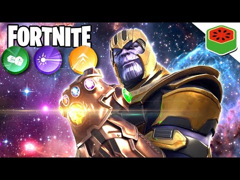 THANOS AND THE INFINITY GAUNTLET | Fortnite Battle Royale