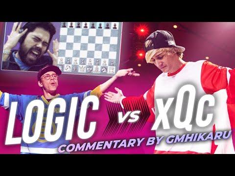 Hikaru Loses All His Money - Logic VS xQc Chess Match