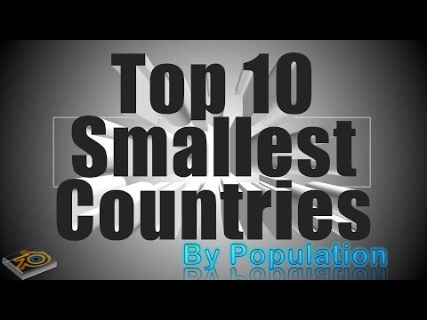 Smallest Country in the World by Population