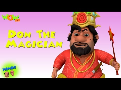 Don The Magician - Motu Patlu in Hindi WITH ENGLISH, SPANISH & FRENCH SUBTITLES