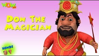 Don The Magician - Motu Patlu in Hindi WITH ENGLISH SPANISH  FRENCH SUBTITLES