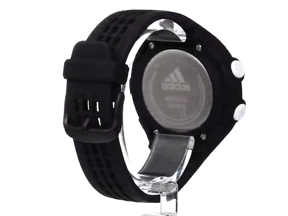 adidas Unisex ADP3130 Black Digital Watch with Polyurethane Band ... 4cb00d33d0