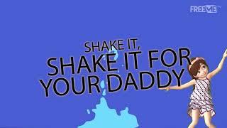 D'Banj Ft Tiwa Savage - Shake It [Lyric Video] | FreeMe TV