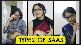 Types of SAAS (Mother in Laws) | SAAS vs BAHU ft. Like | Divisayswhat
