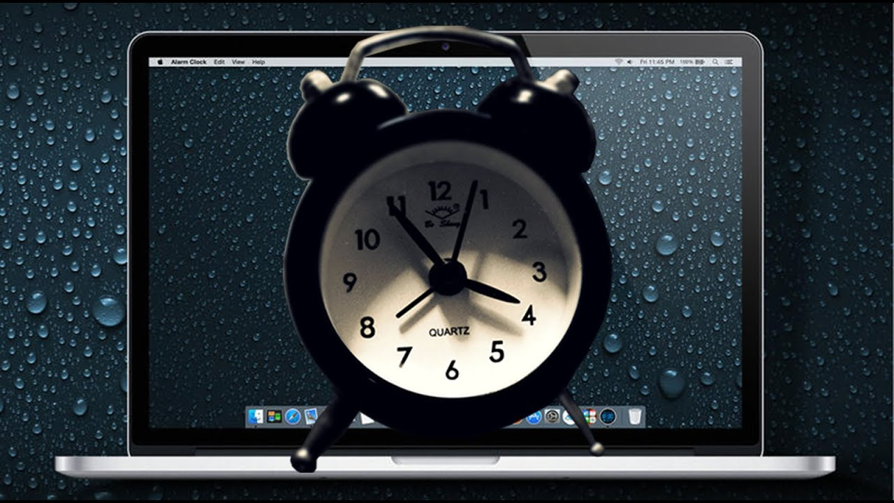 Mac As An Alarm Clock With Itunes Songs
