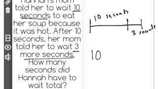 [1.OA.5-1.0] Add and Sub as Counting - Common Core Standard - Word Problem