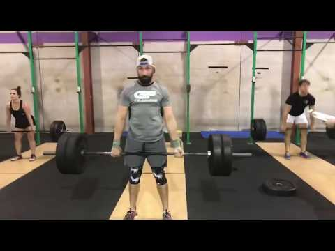 "LIVE: CrossFit ""OPEN 18.4"" (99 Reps) at GeauxFit Training"