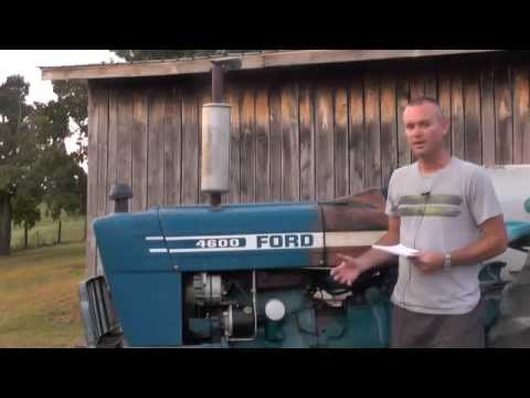 ford 4600 tractor review youtube. Black Bedroom Furniture Sets. Home Design Ideas