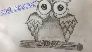 -Owl Sketch- | Jonas Hecker
