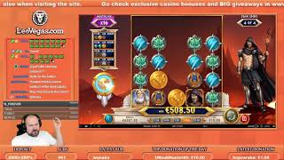 Mega Big Win From Rise Of Olympus Slot!!