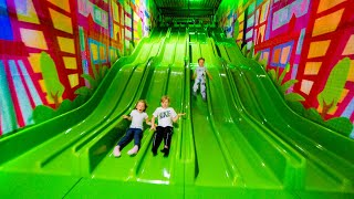 Fun Indoor Playground for Kids at Andy's Lekland (family fun)