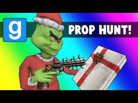 Thumbnail: Gmod Prop Hunt Funny Moments - Santa Claus vs. The Grinch (Garry's Mod Christmas)