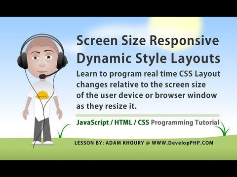 how to make responsive layout
