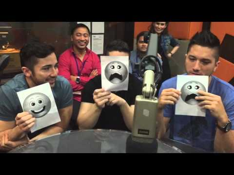 BOYCE AVENUE plays the Smiley Game - TAG 91.1