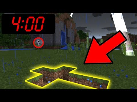 Do NOT Play Minecraft Pocket Edition at 4:00 AM!!!