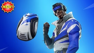 *NEW* BLUE STRIKER Skin Gameplay! - Fortnite Battle Royale