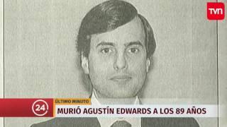 TVN - ÚLTIMO MINUTO - Murió Agustín Edwards