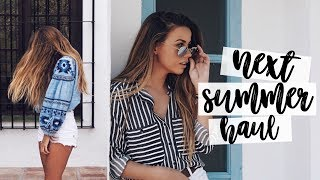 NEXT TRY-ON SUMMER HAUL | CopperGardenx