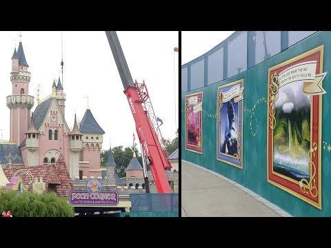 180202 Castle Transformation Construction Update at Hong Kong Disneyland丨香港迪士尼樂園城堡擴建工程狀況更新