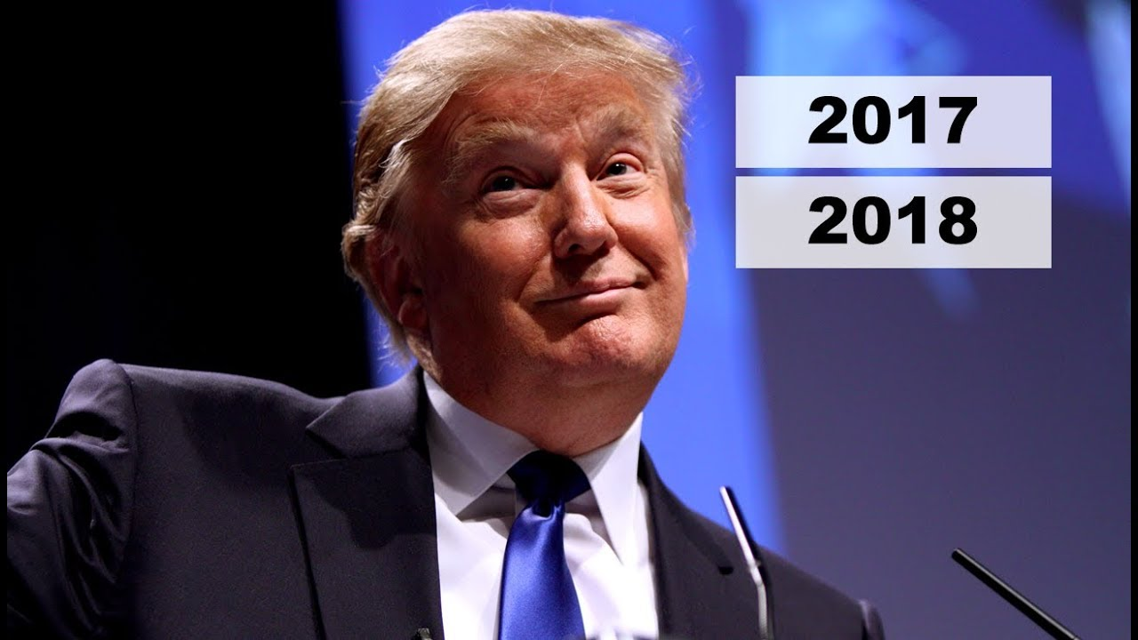 Image result for Images of 2018 and Trump