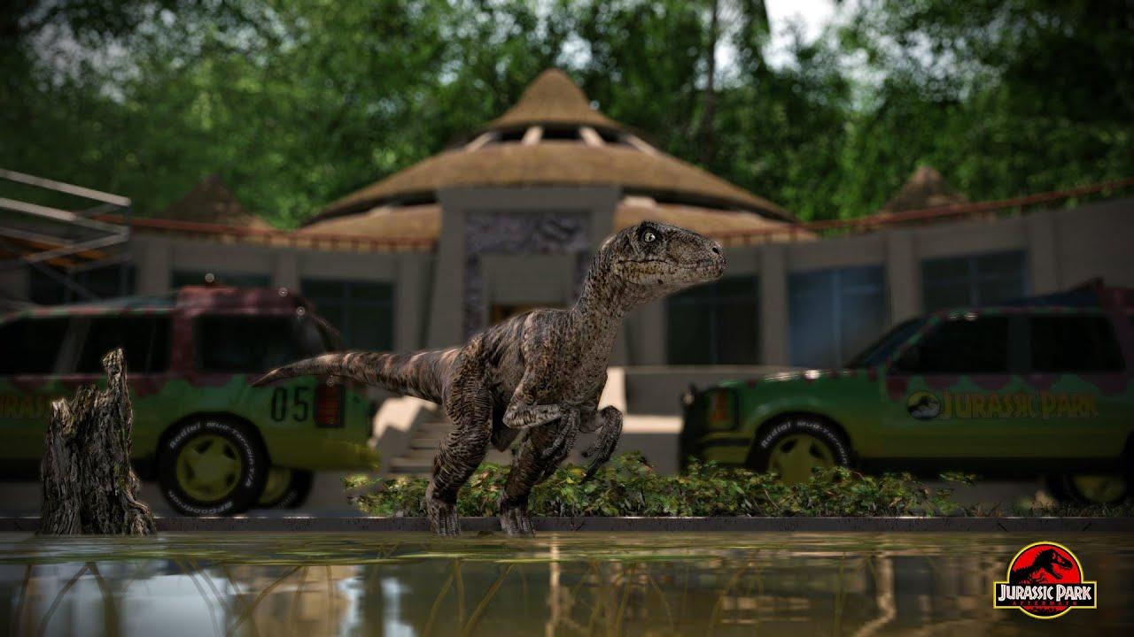 Jurassic Life Espa 241 Ol Mod Half Life 2 Parque Jurasico