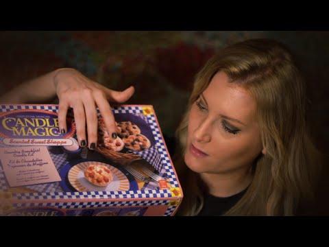 Thrifty Tingles: Candle Magic (Binaural ASMR, Soft Spoken, Tapping, Crinkling)