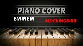 Eminem - Mockingbird (piano cover) by P-Trick