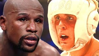 Floyd Mayweather Reacts To Jake Paul Wanting To Fight  Hollywoodlife