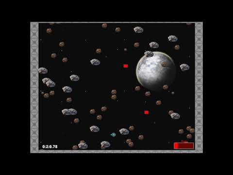 My first completed game. Asteroid Belt. Basic game (name may change)