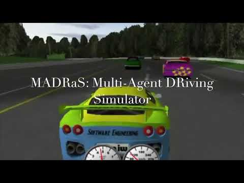 MADRaS: A Multi-Agent DRiving Simulator for Autonomous