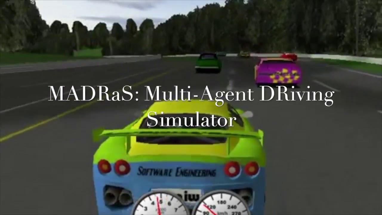 MADRaS: A Multi-Agent DRiving Simulator for Autonomous Driving Research