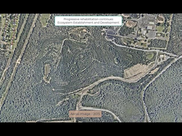 Westside progressive rehabilitation - aerial images
