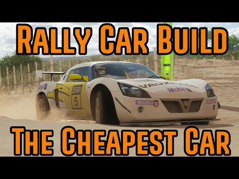 Forza Horizon 4 - Rally Car Build - The Cheapest Car thumbnail