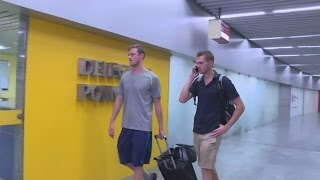 US swimmers pulled off plane in Rio