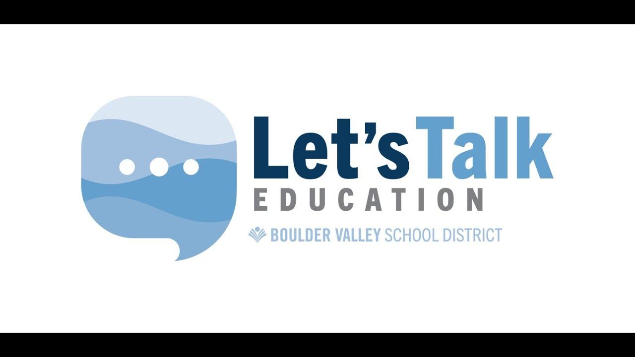 Lets Talk Education: Episode 2 Reintroduction 3